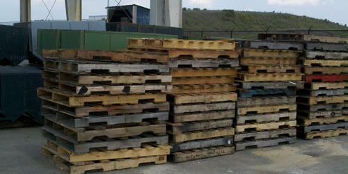 Used Wood Pallets